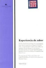 EXPERIENCIAS DE SABER