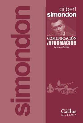 COMUNICACIÓN E INFORMACIÓN (CURSOS Y CONFERENCIAS)